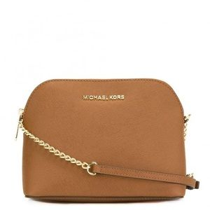 Cindy Soffiona Leather Cross Body